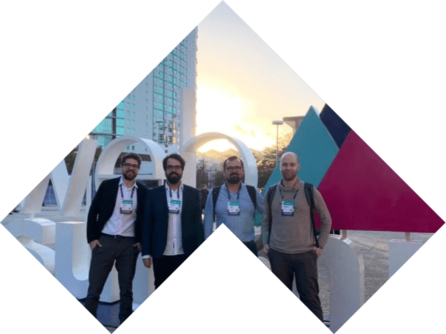 Mário and Pink Room partners at Web Summit